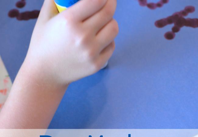 Dot Marker Spelling Words