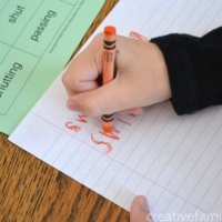 Rainbow Writing Spelling Word Practice