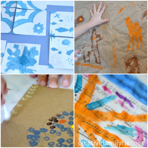 Project Around The World Creative Family Fun