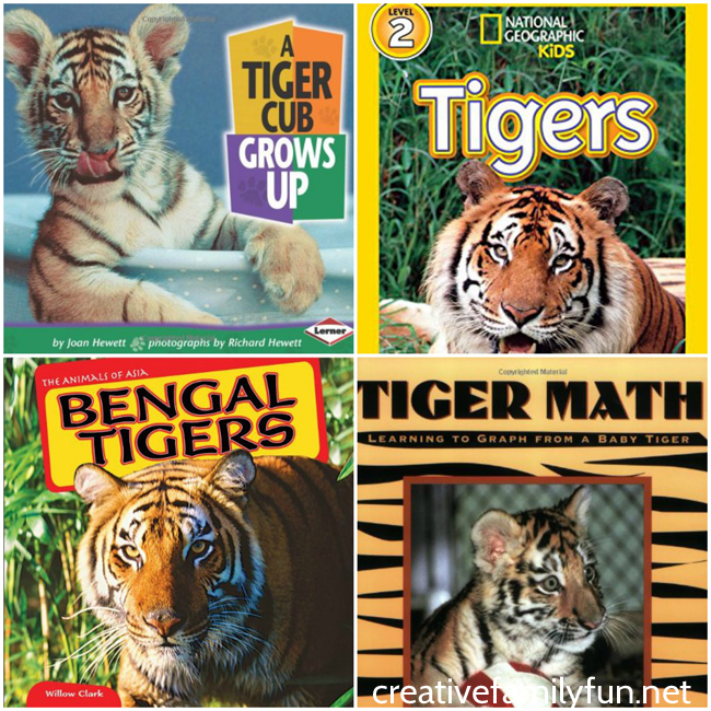 Learn all about tigers with these fun tiger crafts, activities, and books. You'll have so much fun learning along with your kids.