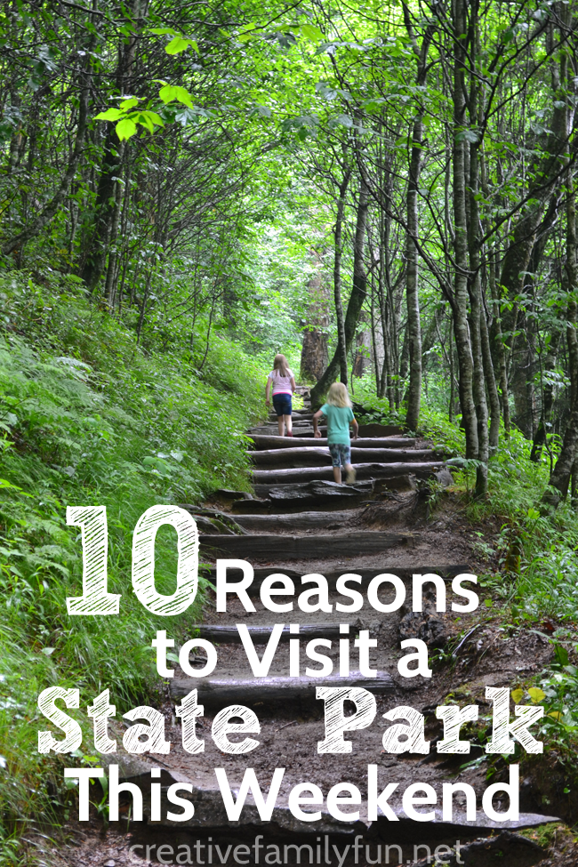 Visit a state park this weekend. It's a great place for a family adventure, staycation, or weekend trip.