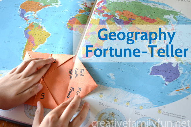 Geography Fortune-Tellers