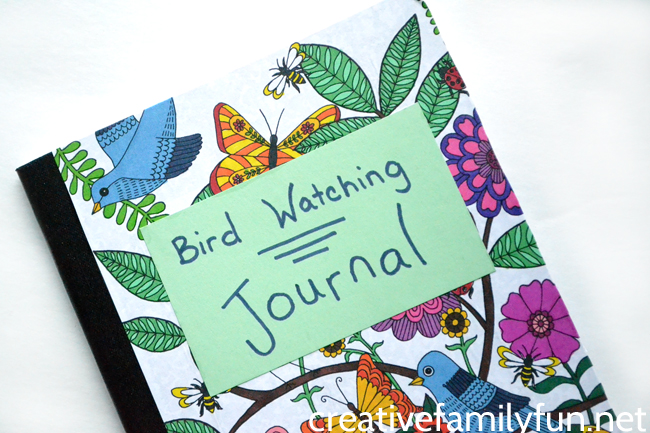 Bird Watching Journal