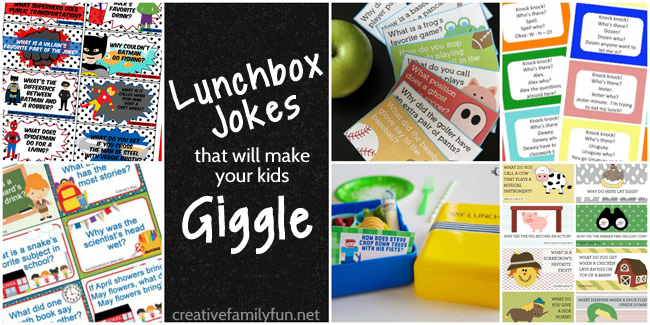 Lunchbox Jokes That Will Make Your Kids Giggle