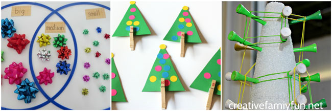 Add some festive cheer to your everyday math practice with one of these Christmas math activities for both preschoolers and elementary kids.