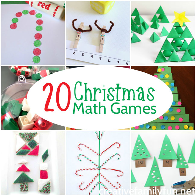 20 Fun Christmas Math Activities