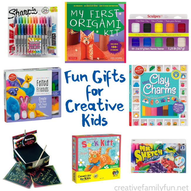 Gift Ideas for Kids Who Love to Create