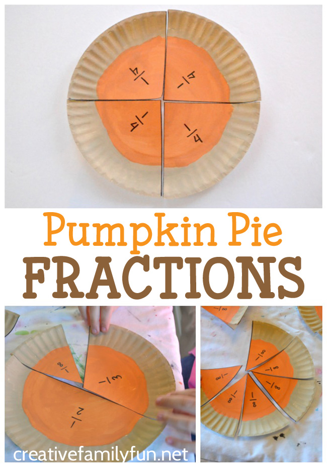 Learn all about fractions with this fun Thanksgiving math activity - Pumpkin Pie Fractions. There are so many different ways to play with this math tool.