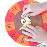 Telling Time with a Turkey Clock