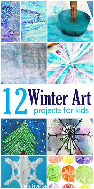 12 Of The Best Winter Art Projects For Kids Creative Family Fun