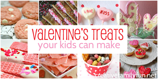 Yummy Valentine's Day Treats Your Kids Can Make