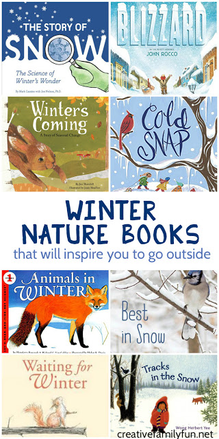 When the weather gets cold, grab some of these winter nature books for kids. They will definitely inspire you to get out and explore outside.