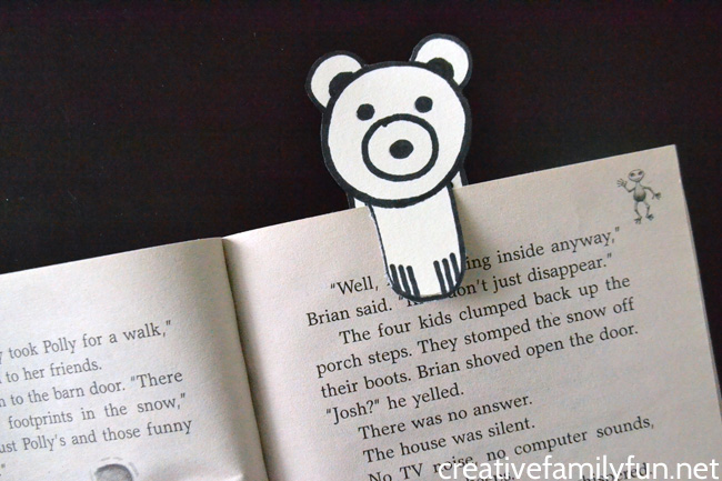Polar Bear Bookmark