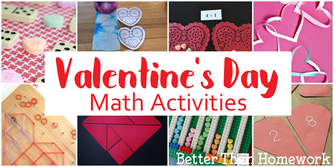 Fun Valentine's Day Math Activities