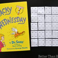 Wacky Mixed-Up Hundred Chart Game