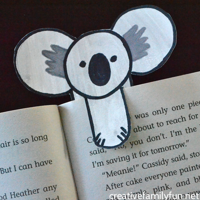 Mark your place in your favorite book with this cute koala bookmark. It's so easy to make with this step-by-step tutorial.