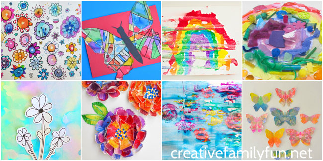 Beautiful Spring Art Projects For Kids Creative Family Fun