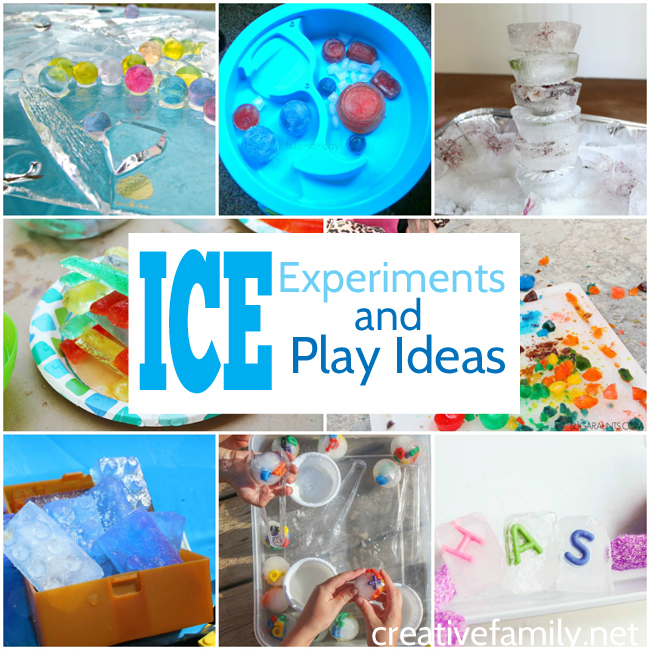 Learn and have fun with these simple ice experiments for preschoolers. Find out what makes ice melt, make colorful ice creations, and more.