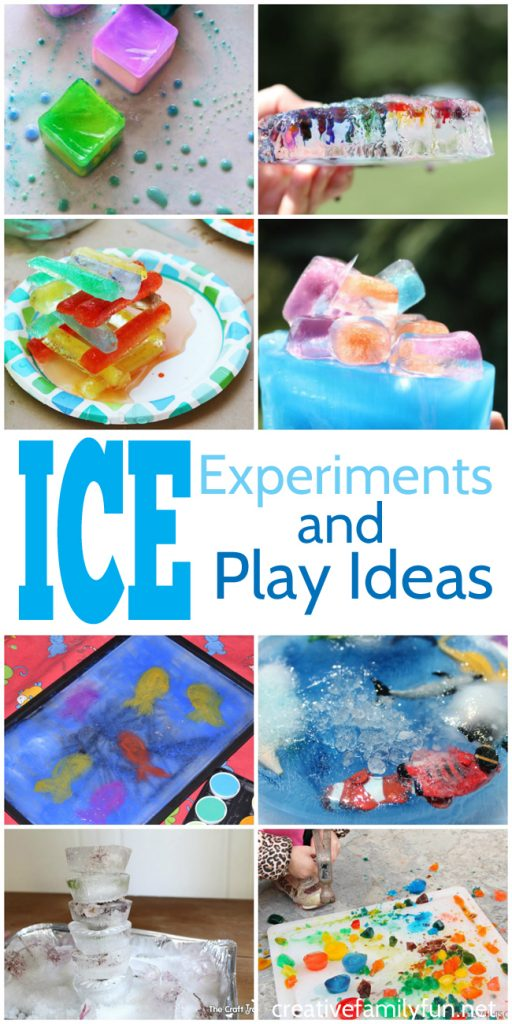 Learn and have fun with these simple ice experiments for preschoolers. Find out what makes ice melt, make colorful ice creations, explore some sensory play ideas and more.