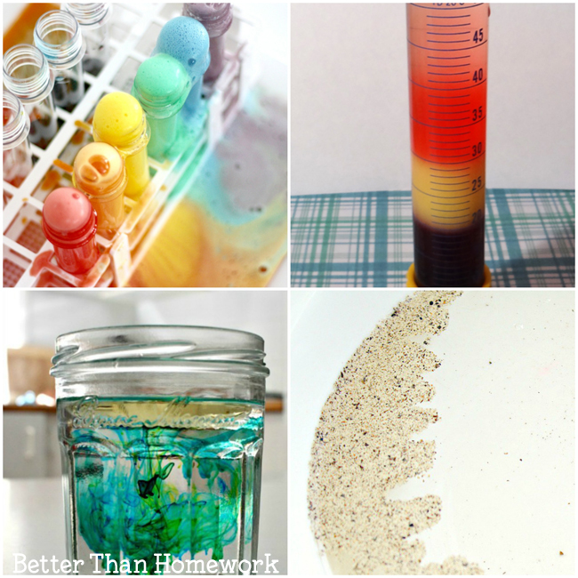 Have some fun with one of these kitchen science experiments. Experiment with ice, learn the science behind food, or do some classic experiments.