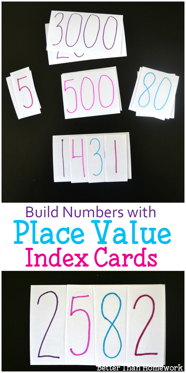 Build Numbers With A Fun Place Value Activity