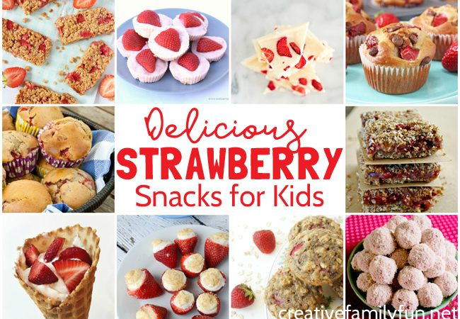 Delicious Strawberry Snacks for Kids