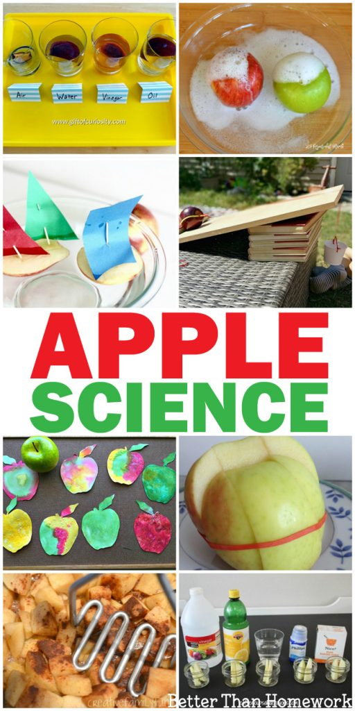Learn and have fun with one of these awesome Apple Science experiments for kids. This fun fall science is always fun to do!
