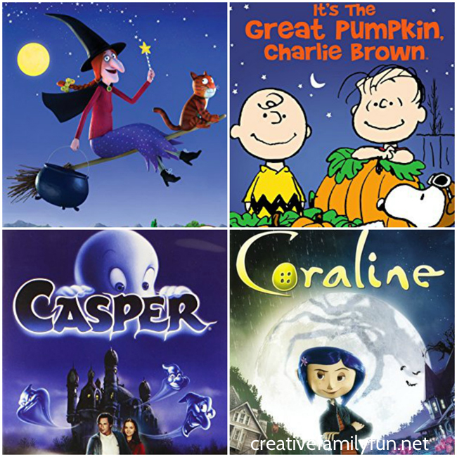 Top 10 Halloween Movies for Family Movie Night - Creative Family Fun