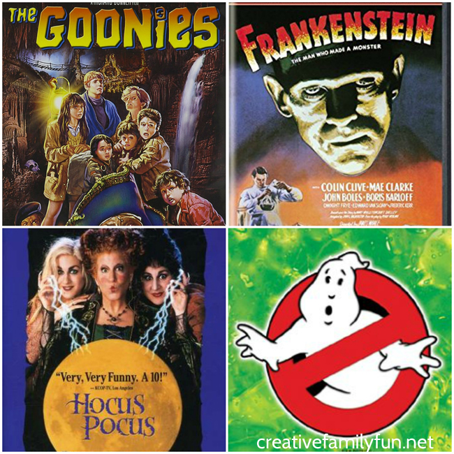 Have a fun Halloween family movie night with one of these fun Halloween movies for kids and families. They're a little spooky and a lot of fun!