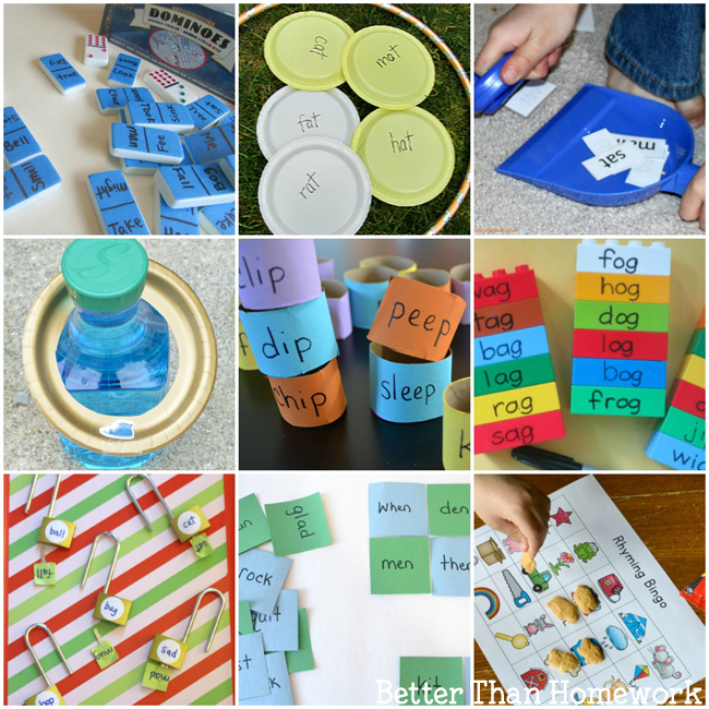 Fun Rhyming Activities For Kindergarten Creative Family Fun