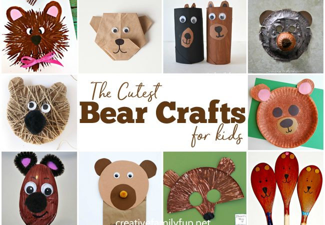 The Cutest Bear Crafts for Kids