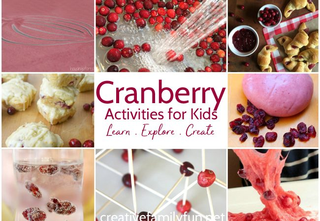 Fun Cranberry Activities for Kids