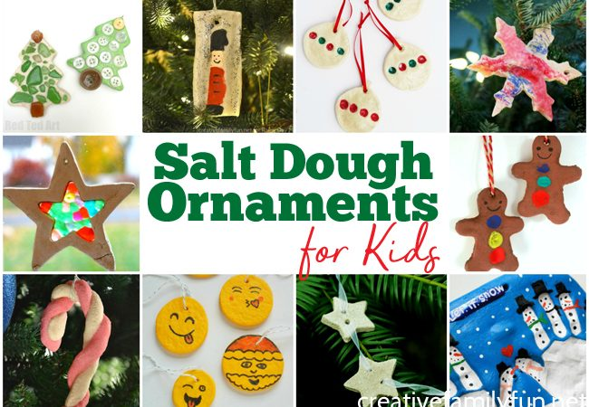 The Best Salt Dough Ornaments for Kids