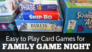 Easy to Play Card Games for Family Game Night