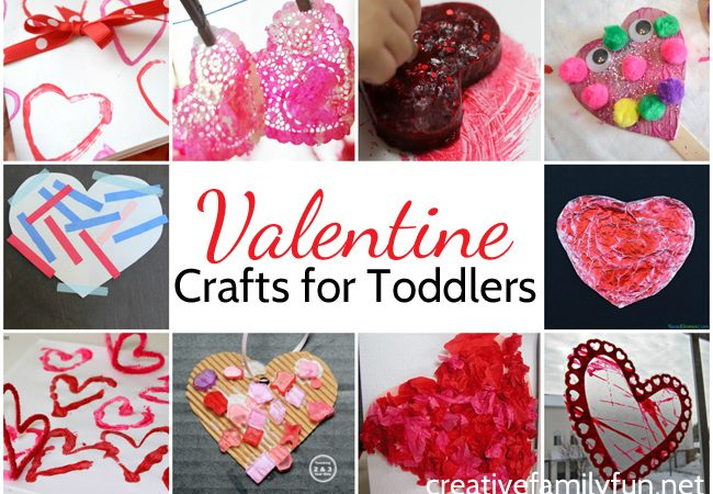 Fun and Simple Valentine Crafts for Toddlers