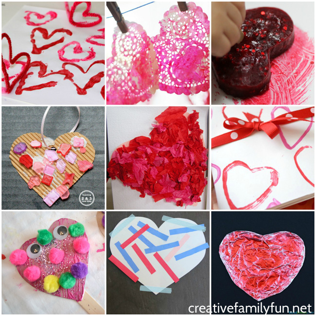 The ultimate list of fun and simple Valentine crafts for Toddlers. These Valentine's Day activities are all simple enough that toddlers can easily have fun and do them without frustration.