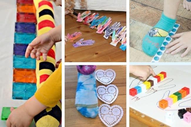 Nonstandard measurement games for kids