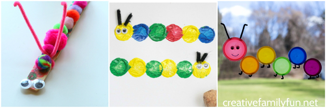 The Cutest Caterpillar Crafts For Kids Creative Family Fun
