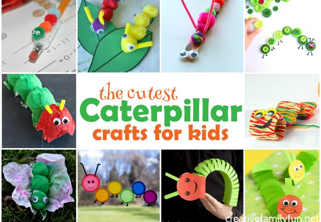 The Cutest Caterpillar Crafts for Kids