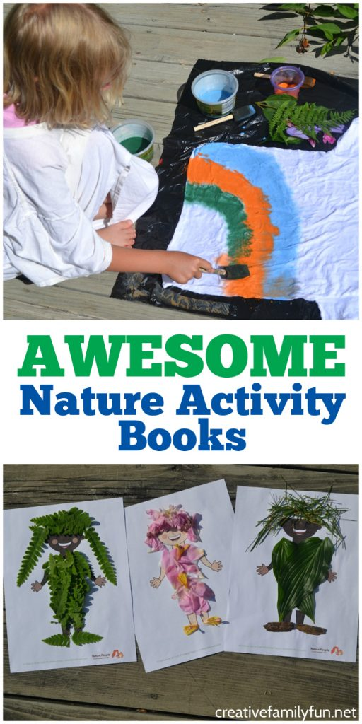 Get inspired to go out and explore nature with one of these fun nature activity books. They're full of fun kids activities and family activities. You'll have fun and learn a lot too.