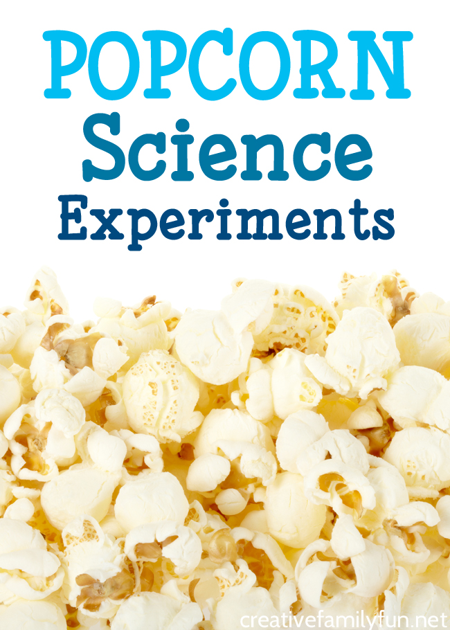 How does popcorn pop? What is the volume of popcorn? Answer these questions and more with these fun popcorn science experiments for kids.