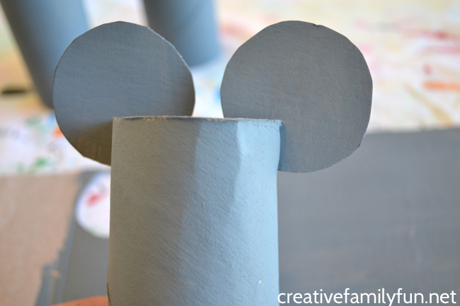 Have some nursery rhyme fun when you make this simple Three Blind Mice craft for kids. It's easy to make and uses recycled supplies. This makes the perfect prop for the popular nursery rhyme.