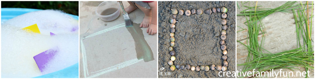 Toddlers and preschoolers will love learning outside with these simple and fun Outdoor Shape Activities for Kids. Learning can be so much fun!