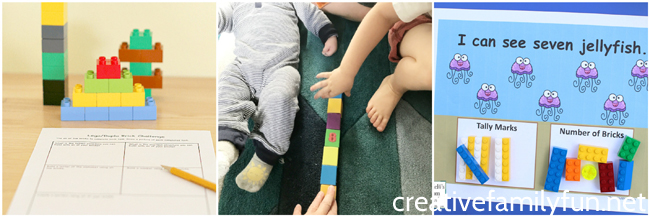 Make math fun with these awesome LEGO math games for preschoolers and elementary students. Find ideas for addition, patterning, multiplication, and more.