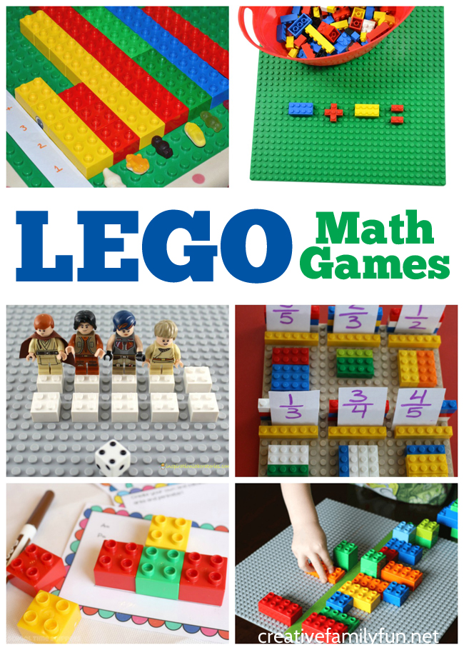 Make math fun with these awesome LEGO math activities for preschoolers and elementary students. Find ideas for addition, patterning, multiplication, and more.