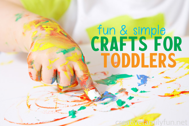 Get creative with your little ones with one of these fun and simple arts and crafts for toddlers. These are all doable and very fun.