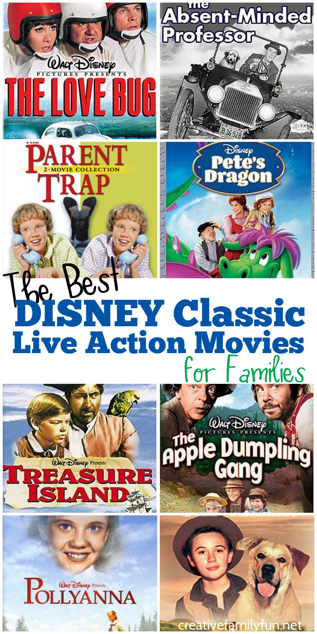 Sometimes old movies are the best for family movie night. These top 10  Disney Classic