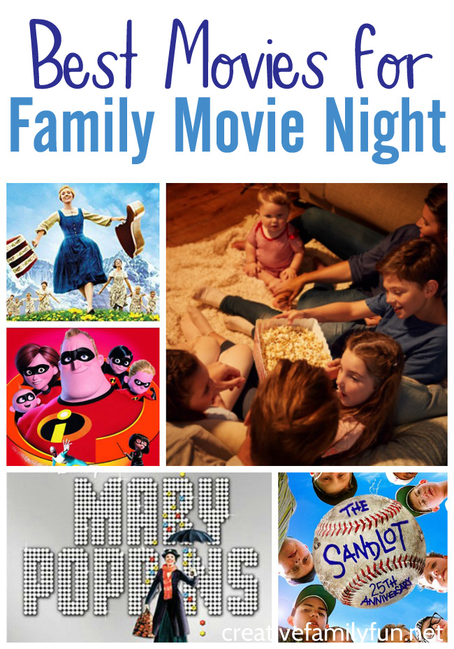 What are you going to watch for your next family movie night? Here are our choices for the top family friendly movies to watch.