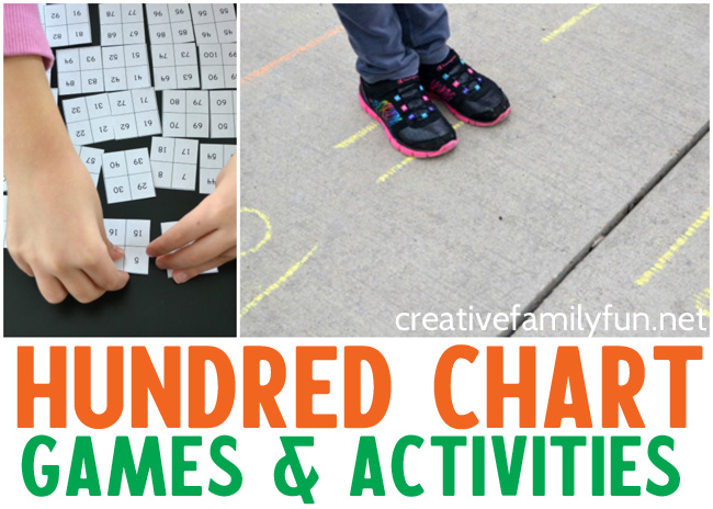 Help make learning fun with these hands-on hundred chart activities and games. These math activities are a fun way to practice many math concepts.
