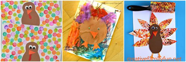 Turkey art for kids
